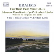 Christian Kohn, Silke-Thora Matthies: Brahms: Four-Hand Piano Music, Vol. 16 - CD