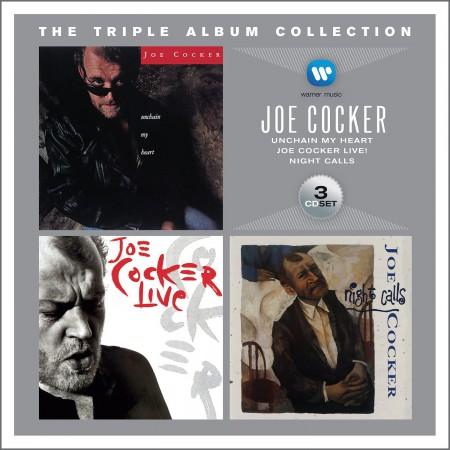 Joe Cocker: The Triple Album Collection (Unchain My Heart / Joe Cocker Live / Night Calls) - CD