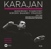Herbert von Karajan, Philadelphia Orchestra, Berliner Philharmoniker: Russian Music (1949-1960) - CD