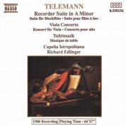 Capella Istropolitana: Telemann: Recorder Suite in A minor - Viola Concerto - Tafelmusik: 2 Concerti - CD