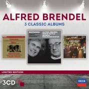 Alfred Brendel: 3 Classic Albums (Limited Edition) - CD