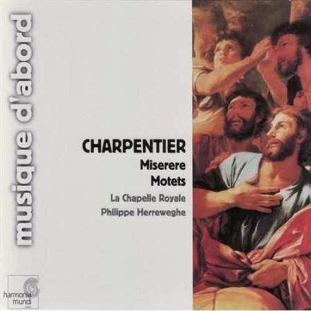 La Chapelle Royale, Philippe Herreweghe: Charpentier: Miserere, Motets - CD
