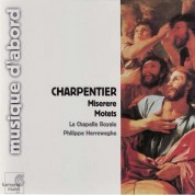 La Chapelle Royale, Philippe Herreweghe: Charpentier: Miserere, Motets - CD