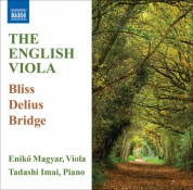 Eniko Magyar: The English Viola - CD