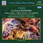 Verdi: Forza Del Destino (La) (Tagliabue, Caniglia) (1941) - CD