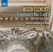 Francesco La Vecchia, Rome Symphony Orchestra: Clementi: Symphonies Nos. 3 & 4 - CD