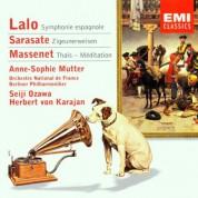 Anne-Sophie Mutter, Orchestre National de France, Seiji Ozawa, Berliner Philharmoniker, Herbert von Karajan: Lalo/ Sarasate/ Massenet: Symphonie Espagnole/ Zigeunerweisen/ Thais - Meditation - CD