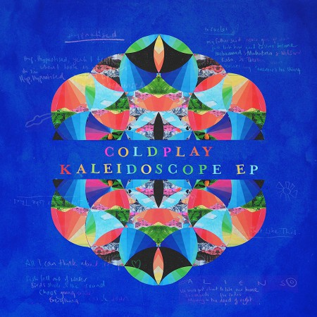 Coldplay: Kaleidoscope EP (Limited-Edition - Colored Vinyl) - Single Plak