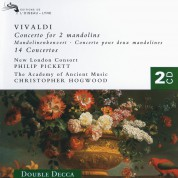 Christopher Hogwood, New London Consort, Philip Pickett, The Academy of Ancient Music: Vivaldi: Concerto For 2 Mandolins - CD