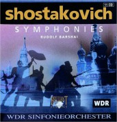 WDR Sinfonieorchester, Rudolph Barshai: Shostakovich: The Complete Symphonies - CD