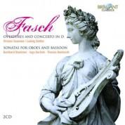 Ludwig Güttler, Kurt Sandau, Andreas Lorenz, Wolfgang Klier, Hans-Peter Steger, Virtuosi Saxoniae: Fasch: Instrumental music - CD