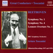 BBC Symphony Orchestra: Beethoven: Symphonies 1 and 4 - CD