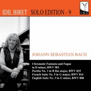 İdil Biret: Bach: Chromatic Fantasia and Fugue - CD