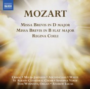 Andrew Lucas, Sinfonia Verdi, St Albans Cathedral Choirs: Mozart: Missa Brevis - Regina Coeli - CD