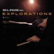Bill Evans: Explorations (Gatefold Packaging. Photographs By William Claxton) - Plak