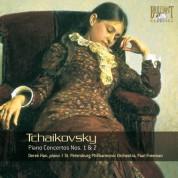 Derek Han, St. Petersburg Philharmonic Orchestra, Paul Freeman: Tchaikovsky: Piano Concertos Nos. 1 & 2 - CD
