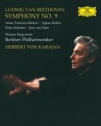 Agnes Baltsa, Berliner Philharmoniker, Herbert von Karajan, Peter Schreier, Anna Tomowa-Sintow, José van Dam, Wiener Singverein: Beethoven: Symphonie No. 9 / Karajan 1976 - BluRay Audio