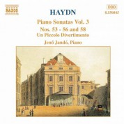 Haydn: Piano Sonatas Nos. 53-56 and 58 / Un Piccolo Divertimento - CD