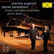 Martha Argerich, Daniel Barenboim: Argerich - Barenboim / Piano Duos - CD