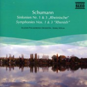 Silesian Philharmonic Orchestra: Schumann: Symphonies Nos. 1 and 3 - CD