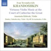 Khandoshkin: 3 Violin Sonatas, Op. 3 / 6 Russian Songs - CD