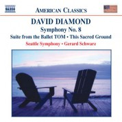 Diamond: Tom Suite / Symphony No. 8 / This Sacred Ground - CD