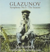 Royal Scottish National Orchestra, Jose Serebrier: Glazunov: Symphony No.5, The Seasons - CD