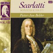 Pieter-Jan Belder: D. Scarlatti: Complete Sonatas, Vol. VIII (Sonatas Kk. 318-371) - CD