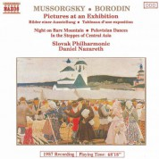 Slovak Philharmonic Orchestra: Mussorgsky: Pictures at an Exhibition / Borodin: Polovtsian Dances - CD