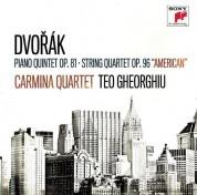 Teodora Gheorghiu, Carmina Quartet: Dvorak: Piano Quintet Op. 81 \ Strin G Quartet Op. 96,