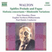 Paul Daniel: Walton: Spitfire Prelude and Fugue / Sinfonia Concertante / Hindemith Variations - CD