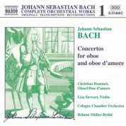 Bach, J.S.: Concertos for Oboe and Oboe D'Amore - CD