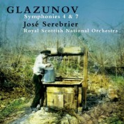 Royal Scottish National Orchestra, Jose Serebrier: Glazunov: Symphonies No.4 & 7 - CD
