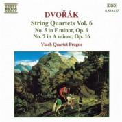 Vlach Quartet Prague: Dvorak, A.: String Quartets, Vol. 6 (Vlach Quartet) - Nos. 5, 7 - CD