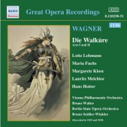 Wagner, R.: Walkure (Die), Acts I and Ii (Ring Cycle 2) (Bruno Walter) (1938) - CD