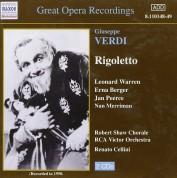 Leonard Warren, Erna Berger: Guiseppe Verdi: Rigoletto - CD