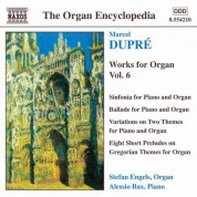 Dupre: Works for Organ, Vol.  6 - CD