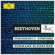 Hermann Scherchen: Beethoven: Symphony No 1 - 9 - CD