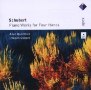 Anne Queffelec, Imogen Cooper: Schubert: Piano Works For Four Hands - CD