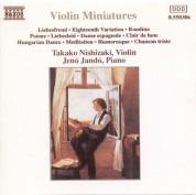 Takako Nishizaki: Violin Miniatures - CD
