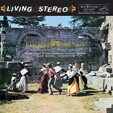 Jean Morel, Chorus of the Royal Opera House, Covent Garden, Royal Opera House Orchestra at Covent Garden: Bizet: L'Arlesienne-Suiten Nr.1 & 2 - Plak