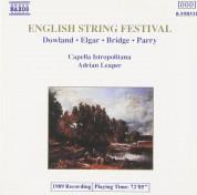 Capella Istropolitana, Adrian Leaper: English String Festival (Dowland, Elgar, Bridge, Parry) - CD