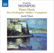 Jordi Masó: Mompou: Piano Music, Vol. 5 - CD