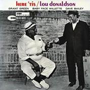 Lou Donaldson: Here 'Tis (45rpm-edition) - Plak