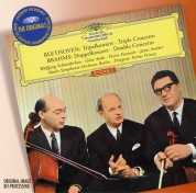 Ferenc Fricsay, Géza Anda, János Starker, Pierre Fournier, Radio Symphonie Orchester Berlin, Wolfgang Schneiderhan: Beethoven/ Brahms: Tripelkonzert/Doppelkonzert - CD