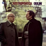 Mstislav Rostropovich: Dvořák, Saint-Saëns: Cello Concerto - Plak