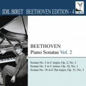 İdil Biret: Beethoven, L. Van: Piano Sonatas, Vol.  2 (Biret) - Nos. 3, 5, 18 - CD
