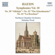 Haydn: Symphonies, Vol. 10 (Nos. 30, 55, 63) - CD