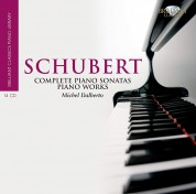 Michel Dalberto: Schubert: Complete Piano Works - CD