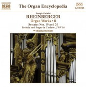 Wolfgang Rubsam: Rheinberger, J.G.: Organ Works, Vol.  8 - CD